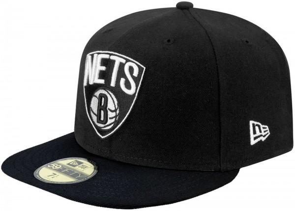 New Era - NBA Brooklyn Nets Team Basic 59Fifty Cap - black