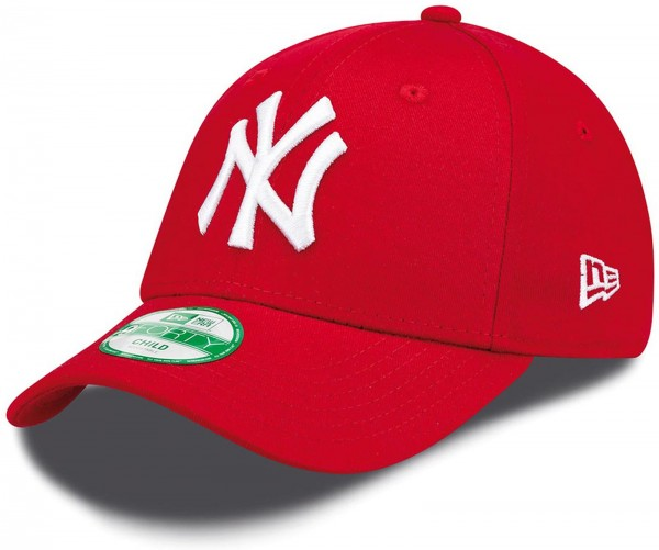 New Era - MLB New York Yankees Essential Kids 9Forty Cap - Rot
