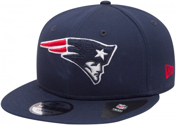 New Era - NFL New England Patriots Team Classic 9Fifty Snapback Cap - navy