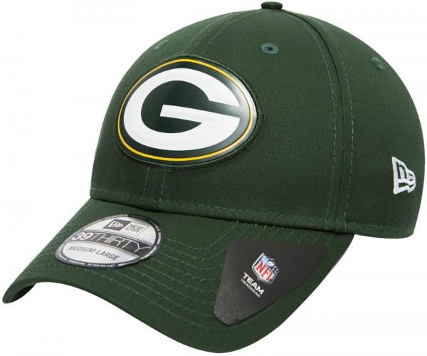 New Era - NFL Green Bay Packers Stretch Logo Weld 39Thirty Cap - green