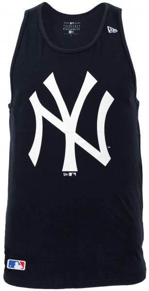 New Era - MLB New York Yankees Team Apparel Tank Top - Blau Vorderansicht