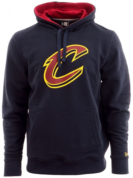 New Era - NBA Cleveland Cavaliers Tip Off PO Hoodie - navy