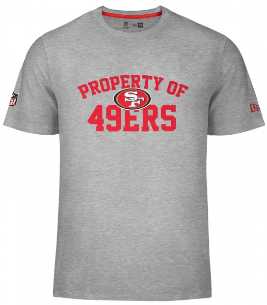 New Era - NFL San Francisco 49ers Property T-Shirt - grey