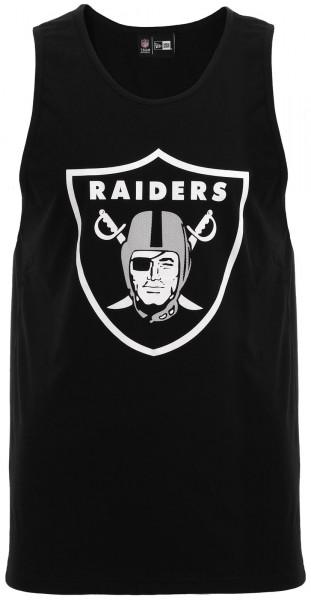 New Era - NFL Oakland Raiders Dry Era Tank Top - Schwarz