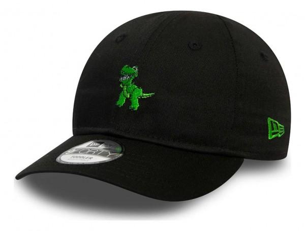 New Era - Disney Toy Story Small Logo Rex Toddler Strapback Cap - Schwarz Ansicht vorne schräg links