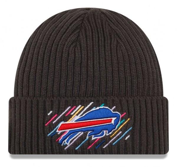 New Era - NFL Buffalo Bills 2021 Crucial Catch Knit - Grau Vorderansicht