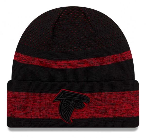 New Era - NFL Atlanta Falcons 2021 Tech Knit Beanie - Mehrfarbig Vorderansicht