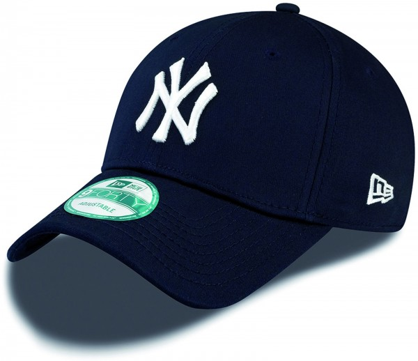 New Era - MLB New York Yankees Essential 9Forty Cap - Blau-Weiß
