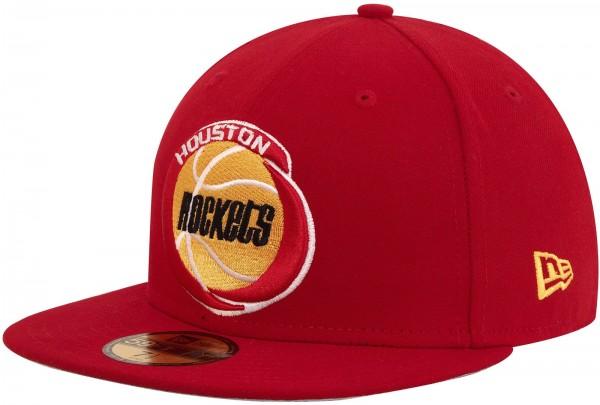New Era - NBA Houston Rockets Team HWC 59Fifty Cap - Rot