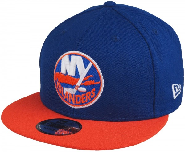 New Era - NHL New York Islanders 9Fifty Snapback Cap - blue-orange