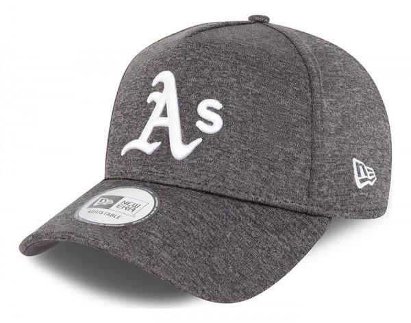 New Era - MLB Oakland Athletics Tonal Team Trucker Snapback Cap - Grau Ansicht vorne schräg links