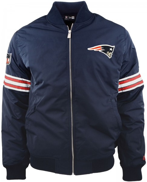 New Era - NFL New England Patriots Bomber Jacke - navy
