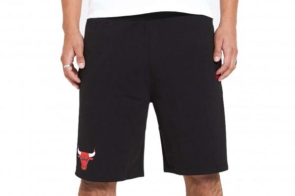 New Era - NBA Chicago Bulls Contrast Shorts - Schwarz Vorderansicht