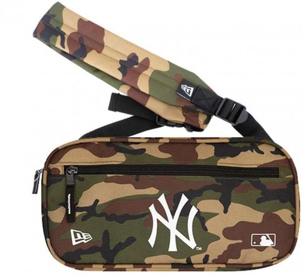 New Era - MLB New York Yankees Cross Body Bag Tasche - Camouflage Vorderansicht