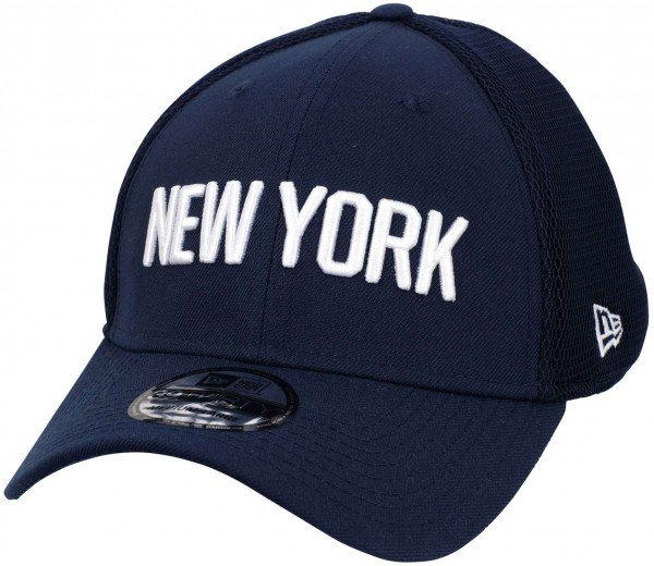 New Era - NBA New York Knicks 2019 City Series 39Thirty Stretch Cap - Blau