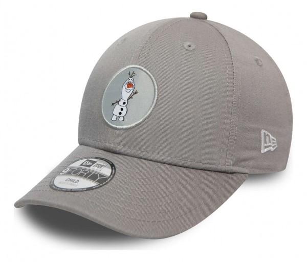 New Era - Disney Olaf Character Logo 9Forty Kids Strapback Cap - Rot Ansicht vorne schräg links
