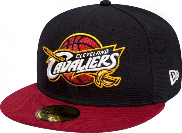 New Era - NBA Cleveland Cavaliers 59Fifty Cap - navy-red
