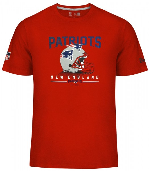 New Era - NFL New England Patriots Fan Pack T-Shirt - red