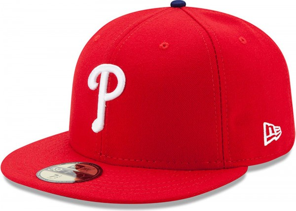New Era - MLB Philadelphia Phillies Authentic On-Field Game 2017 59Fifty Cap - red