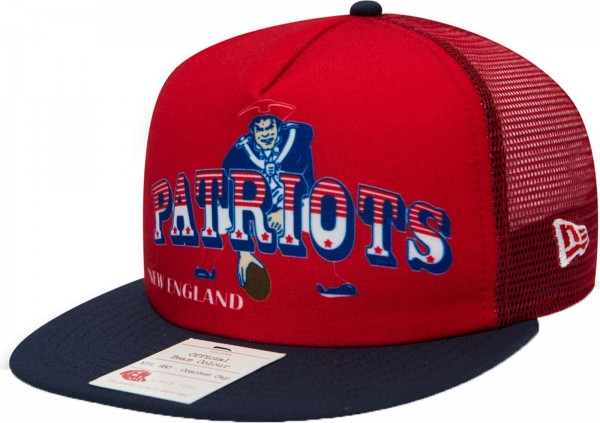 New Era - NFL New England Patriots Heritage Aframe 9Fifty Cap - red