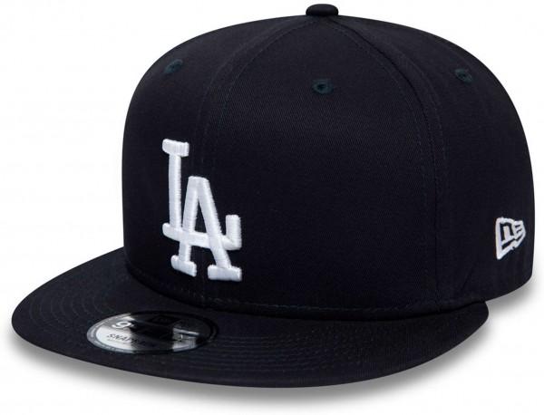 New Era - MLB Los Angeles Dodgers Essential 9Fifty Snapback Cap - Blau Ansicht vorne links
