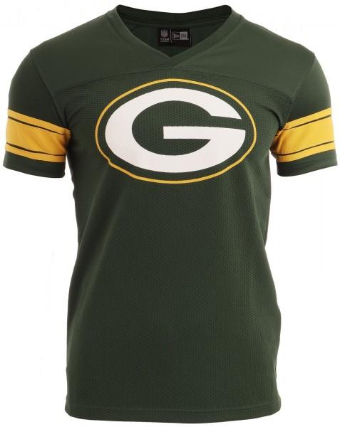 New Era - NFL Green Bay Packers Supporters Jersey T-Shirt - Grün