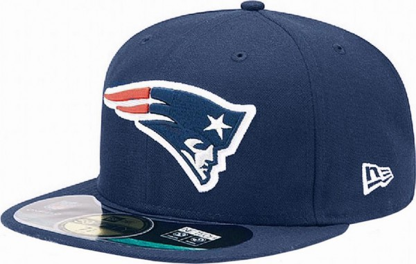 New Era - NFL New England Patriots Authentic On-Field 59Fifty Cap - navy