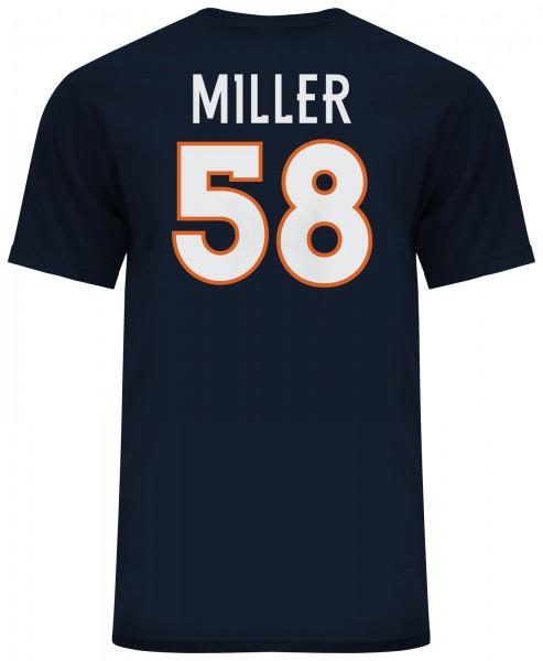 Majestic Athletic - NFL Denver Broncos Miller #58 N&N T-Shirt - navy