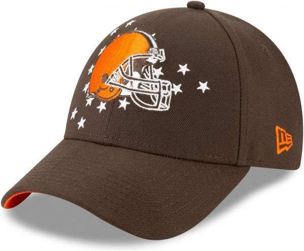 New Era - NFL Cleveland Browns Draft 2019 On-Stage 9Forty Strapback Cap - Braun Ansicht schräg links