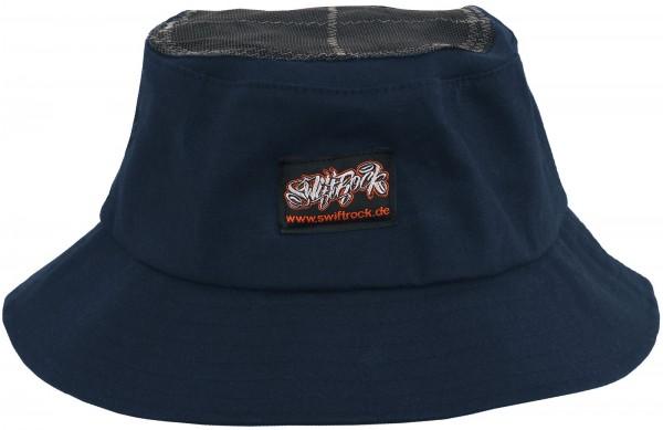 SR Rocking Gear - Swift Rock Bucket Hat Headspin Hut - Blau