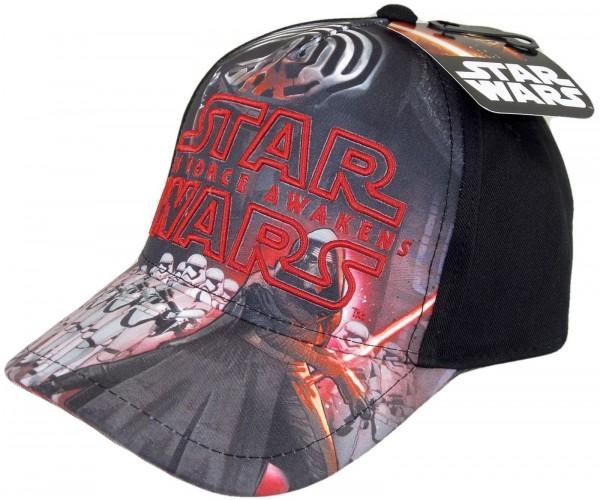 NEUER Disney - Star Wars The Force Awakens Kylo Ren Kids Snapback Cap - Schwarz
