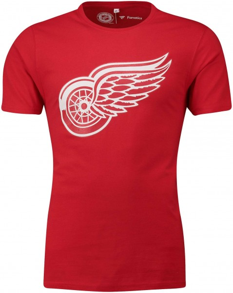 Fanatics - NHL Detroit Red Wings Primary Core Graphic T-Shirt - Rot Vorderansicht