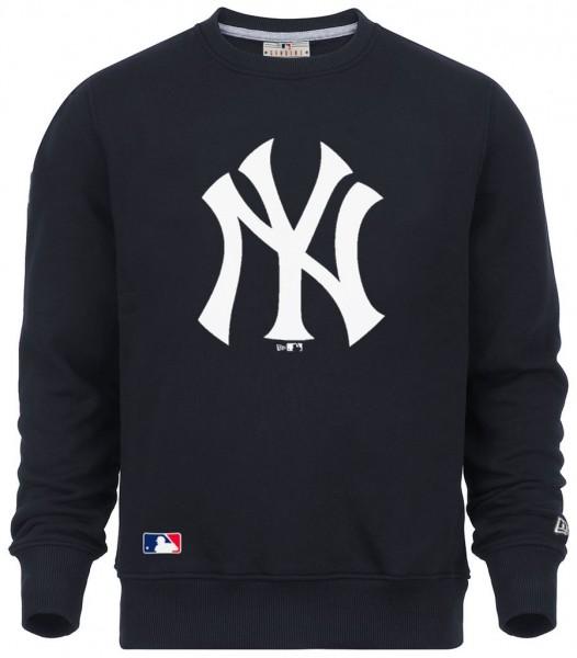 New Era - MLB New York Yankees Team Logo Sweatshirt - navy