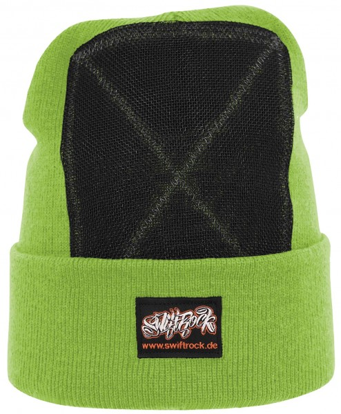 SR Rocking Gear - Swift Rock Classic Headspin Beanie - Limonengrün