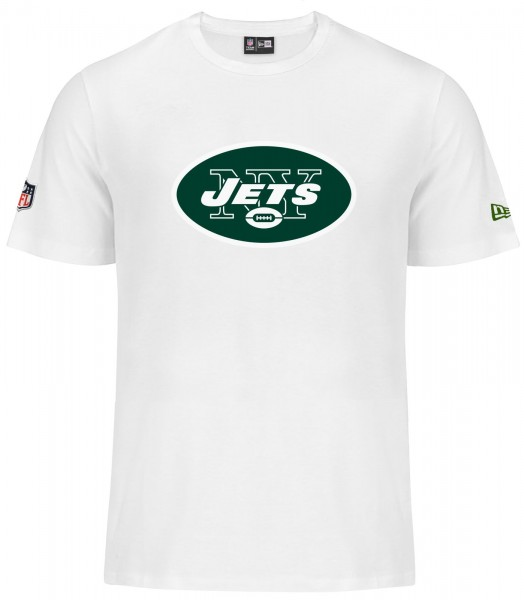 New Era - NFL New York Jets Team Logo T-Shirt - white