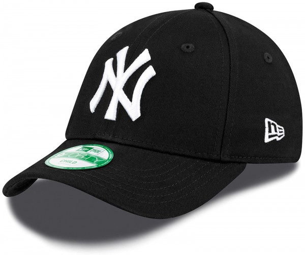 New Era - MLB New York Yankees Essential Kids 9Forty Cap - Schwarz