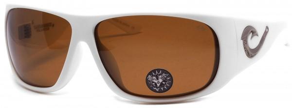 Black Flys - Tahitian Hooker - Sonnenbrille polarisiert - Weiß