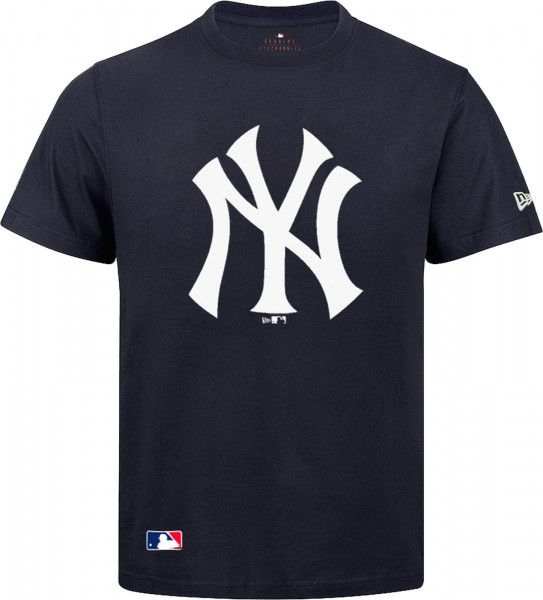 New Era - MLB New York Yankees Team Logo T-Shirt - navy