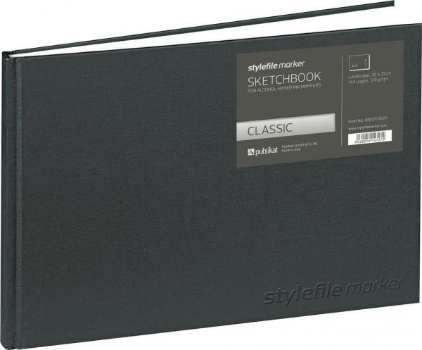 Stylefile - Marker Classic Skizzenbuch DIN A4 horizontal