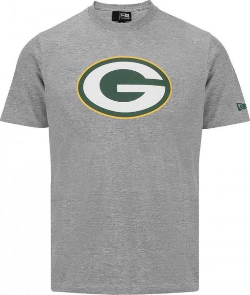 New Era - NFL Green Bay Packers Team Logo T-Shirt - Grau