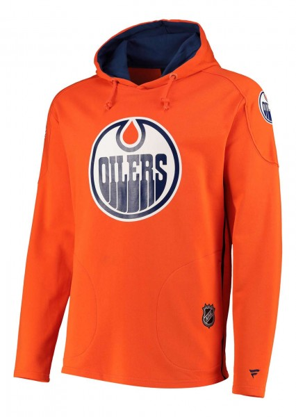 Fanatics - NHL Edmonton Oilers Franchise Overhead Hoodie - Orange Vorderansicht