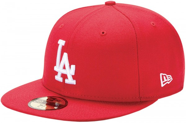 New Era - MLB Los Angeles Dodgers Essential 59Fifty Cap - red