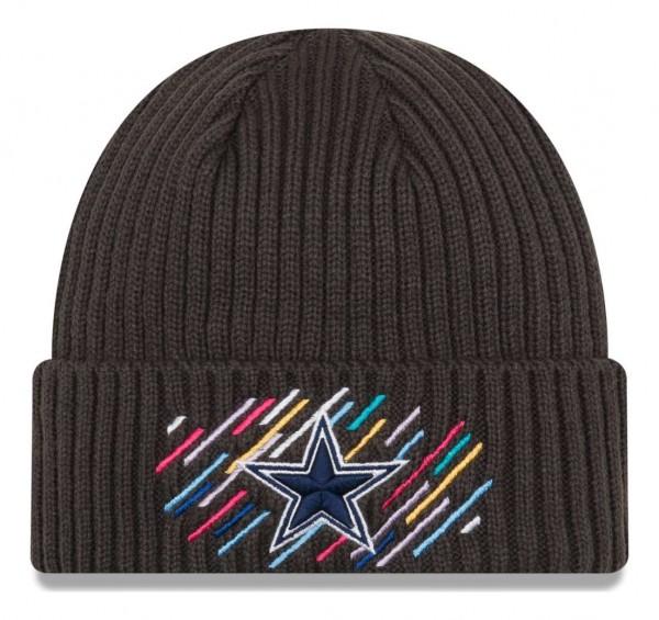 New Era - NFL Dallas Cowboys 2021 Crucial Catch Knit - Grau Vorderansicht
