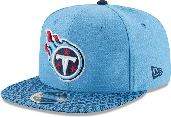 New Era - NFL Tennessee Titans Sideline OF 9Fifty Snapback Cap - blue