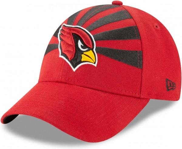 New Era - NFL Arizona Cardinals Draft 2019 On-Stage 9Forty Strapback Cap - Rot Ansicht schräg links