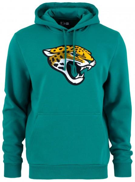 New Era - NFL Jacksonville Jaguars Team Logo Hoodie - Blaugrün ansicht von vorne