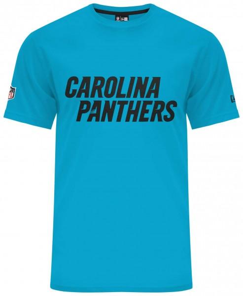 New Era - NFL Carolina Panthers Team Apparel Classic T-Shirt - Türkis