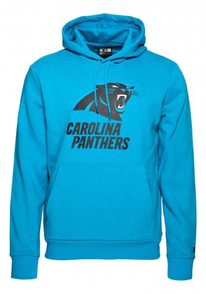 New Era - NFL Carolina Panthers Team Logo and Name Hoodie - Carolina Blau