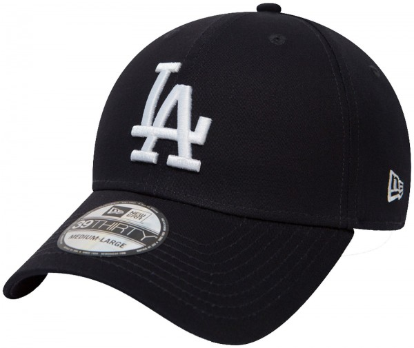 New Era - MLB Los Angeles Dodgers Essential 39Thirty Cap - Blau-Weiß