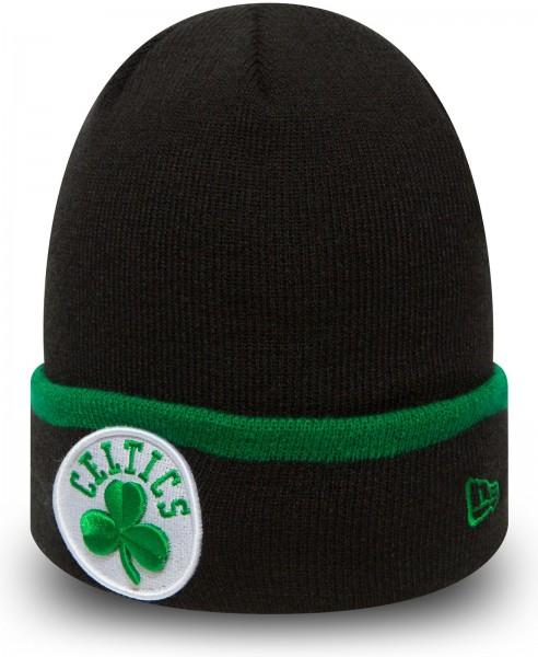 New Era - NBA Boston Celtics Team Cuff Beanie OTC - Schwarz